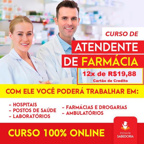 Curso De Atendente De Farmácia (100% Online)