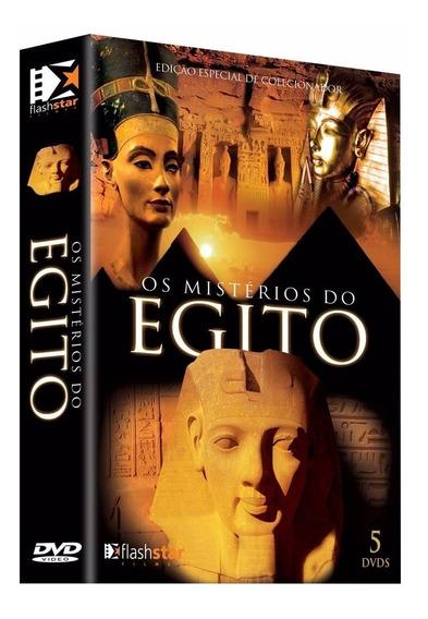 Box Os Mistérios Do Egito 5 Dvds - Frete Grátis Lacrado Novo
