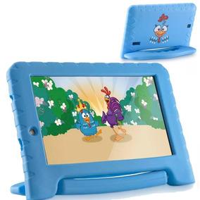 Tablet Infantil Galinha Pintadinha Multilaser 8gb Azul + Nfe