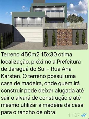 Terreno Com Casa De Madeira
