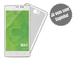Smartphone Mirage 81s Dual Chip Quad-core 16gb Câmera 3mp