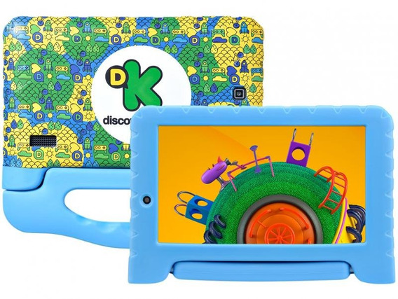 Tablet Multilaser Discovery Kids Nb290 Câmeras (frontal)