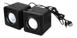 Altavoz Pequeño Portable Usb 3.5mm Accesorios De Ordenador