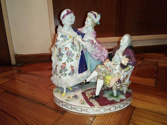 Grupo De Porcelana Alemana