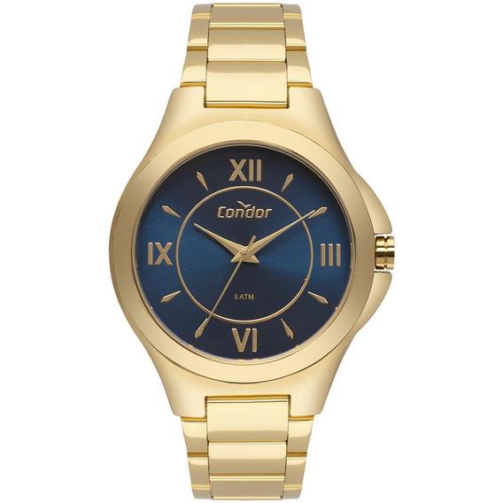 Relógio Condor Feminino Dourado Metal Co2035kxu/4a