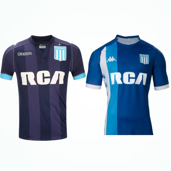 2x1 Camiseta Racing Club Suplente Kappa Oficial 2017 2018