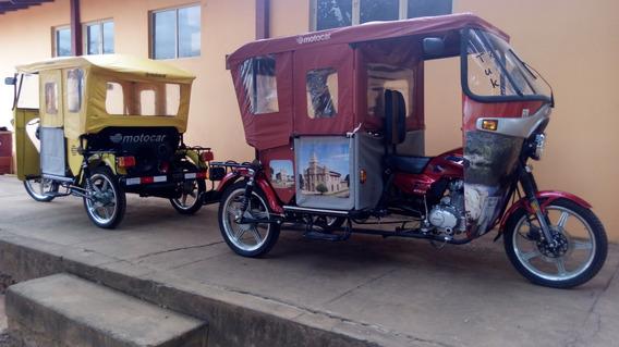 Triciclo Tuk-tuk Para Moto-táxi Ou Propaganda Volante