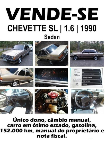 Chevrolet Chevette / Sl 1.6