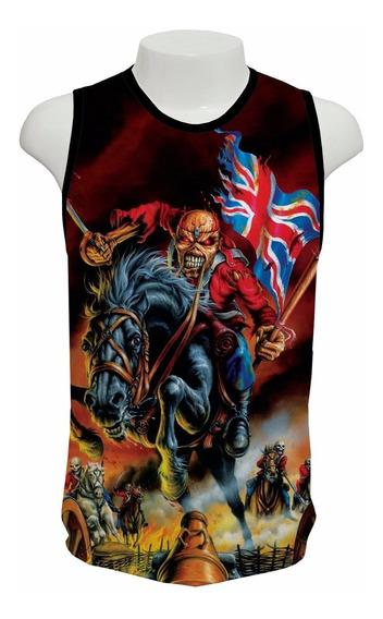Camiseta Iron Maiden Mod 02 - Regata