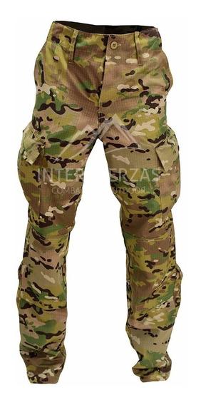 Pantalon Multicam Militar Tactico Camuflado Antidesgarro Uca