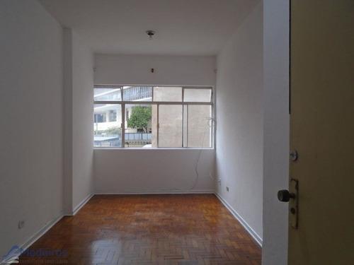 Apartamento 01 Dormitório, A 200 Metros Do Metrô E Terminal De Ônibus, Av Nove De Julho- Bela Vista. - Md858
