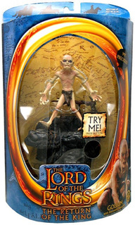 Figura Gollum The Lord Of The Rings Return Of The King Lotr