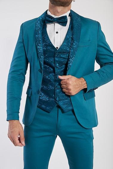 Conjunto Borcato Blazer Pantalon Y Chaleco