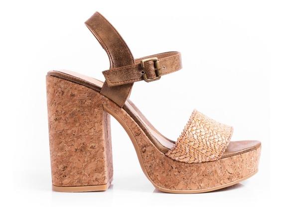 Sandalias Zapatos Plataformas Mujer Taco Palo Fiesta Mujer
