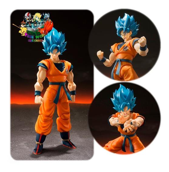 Bandai S.h. Figuarts Dragon Ball Z Goku God Ssgss