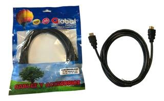 Cable Hdmi Filtro Y Terminales Oro V2.0 4k - 5 Mts
