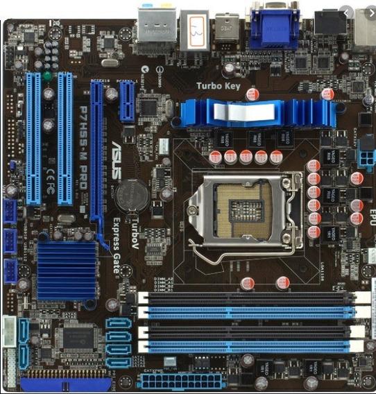 Kit Asus P7h55 + Core I7-870, 2.93ghz - Socket 1156