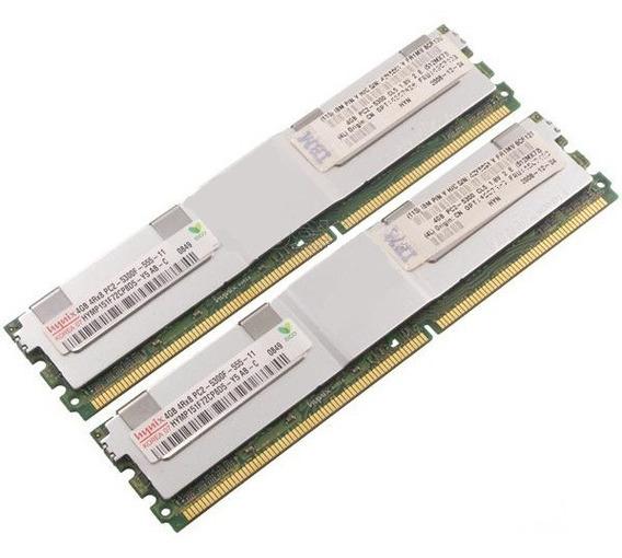 Ibm 8gb (2x4gb) Ddr2 Pc2-5300 667 Fbdimm Bladecenter Hs21