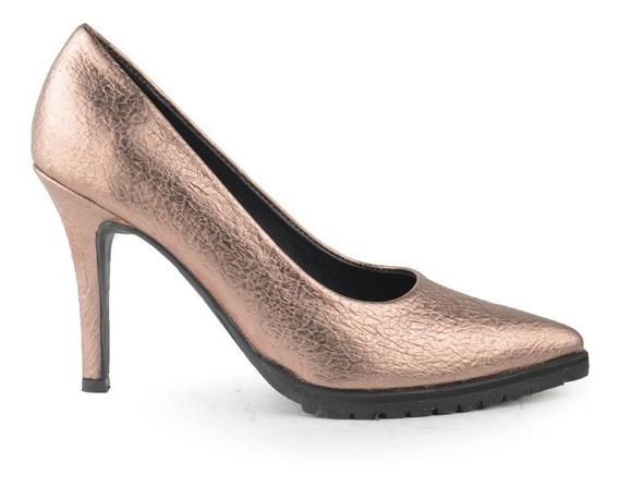 Zapatos De Mujer De Cuero De Vestir Tivoli - Ferraro -