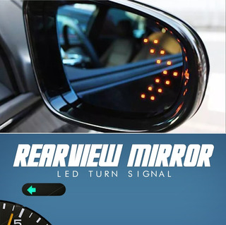 Luz Direccional Retrovisor Led Tuning Universal