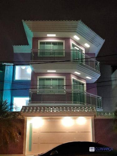Imagem 1 de 30 de Casa Com 4 Dormitórios À Venda, 300 M² Por R$ 1.400.000,00 - Campo Grande - Rio De Janeiro/rj - Ca1938