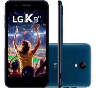 Smartphone Lg K9 Tv, Quad-core 16gb Dual Chip Azul - Lmx210b