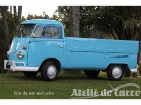 Volkswagen Kombi Pick Up 1975 Toda Original! Ateliê Do Carro