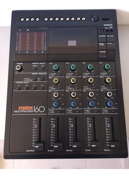 Mesa Gravador Mixer Fostex 160 Multitracker Cassete *raro