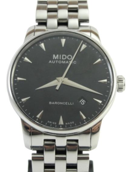 Relógio Mido Automático Mod: Baroncelli - Clássico / Social