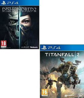 Juego Ps4 Dishonored 2 + Titanfall 2