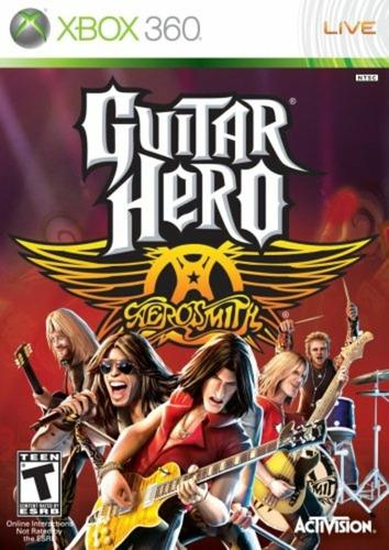 Guitar Hero Aerosmith Xbox 360 Nuevo Sellado