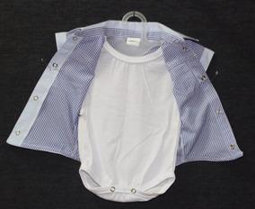 Camisa Social Para Bebê 02 Peças