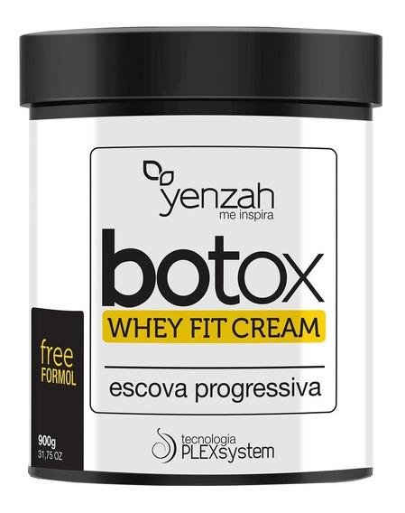 Escova Progressiva Yenzah Yentox Whey Fit Cream 900g