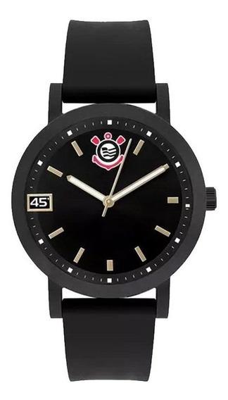 Relógio Technos Corinthians Feminino Preto