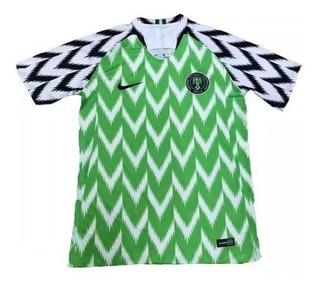 Genial Jersey Nigeria Mundial Rusia 2018 Verde Local