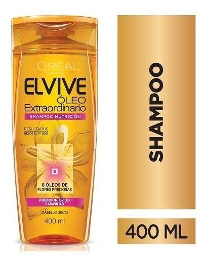 Shampoo Elvive Óleo Extraordinario Nutrición L
