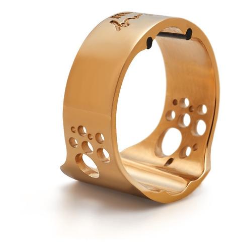 Abracadeira Sax Alto Ring Lig. Gold Boq .massa Ever-ton