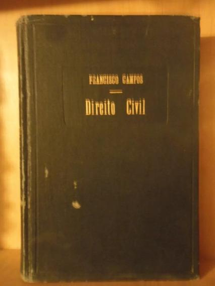 Direito Civil - Francisco Campos - 1956