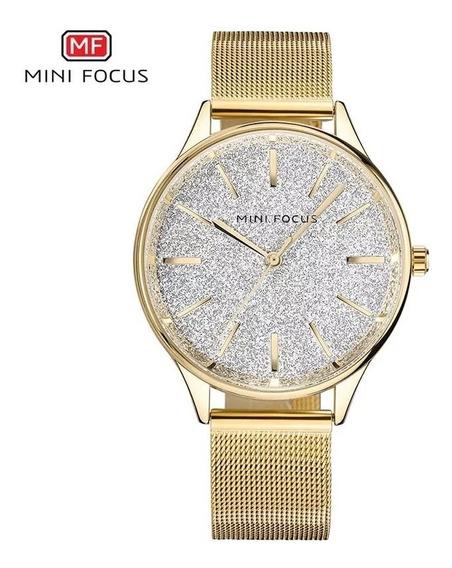 Relógio Feminino Analógico Minifocus Mf0044