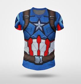 Remera Capitán America Traje 1 (captain ) Full Print