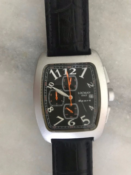 Relógio Masculino Locman - Caixa De Alumínio (calendário)