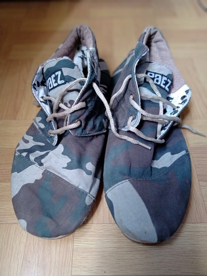 Zapatillas Tipo Alpargatas Paez Talle 43
