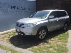 Toyota Highlander Base Premium Sport Aa Qc Piel 2012 Credito