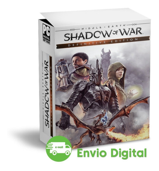 Shadow Of War - Pc - Mídia Digital - Envio Imediato