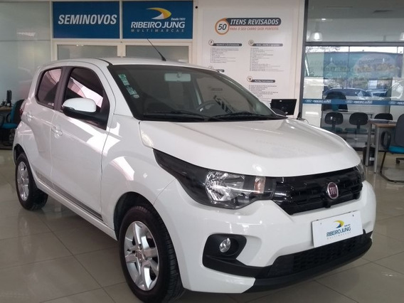 Fiat Mobi 1.0 Like On 2017 Branco Flex