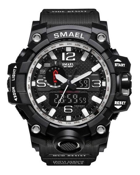 Relógio Tático Militar Smael 1545 Original Prova D