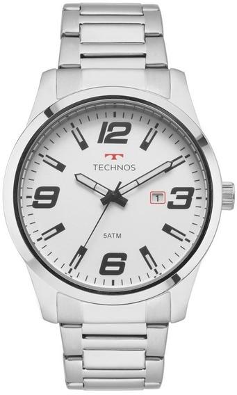 Relógio Technos Masculino Racer Prata -2115mol/1b