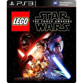Lego Star Wars Force Awakens Mídia Física Ps3 Frete Barato
