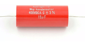 Capacitor Polipropileno 15µf 400 V Cp 56,5mm Dm 25,7mm