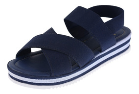 Sandalia Infantil Feminina Sapato Plataforma Anabela Moda